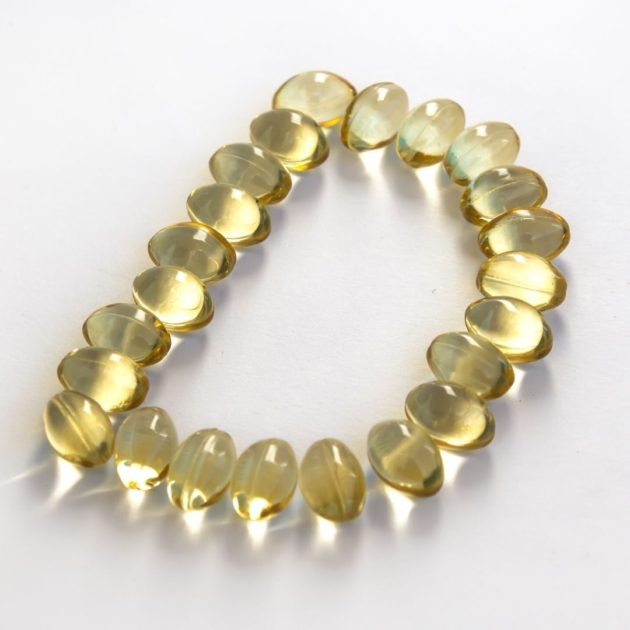LETTER D WRITTEN WITH VITAMIN SUPPLEMENT
